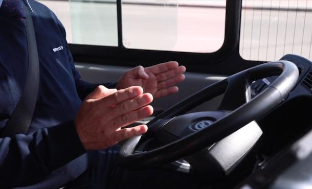 autobus guida autonoma malaga